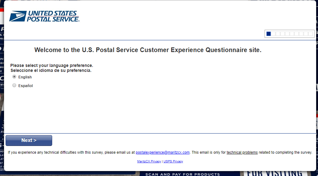 Postal Experience