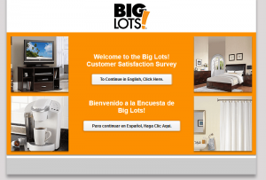 BigLotsSurvey - Big Lots Customer Satisfaction Survey