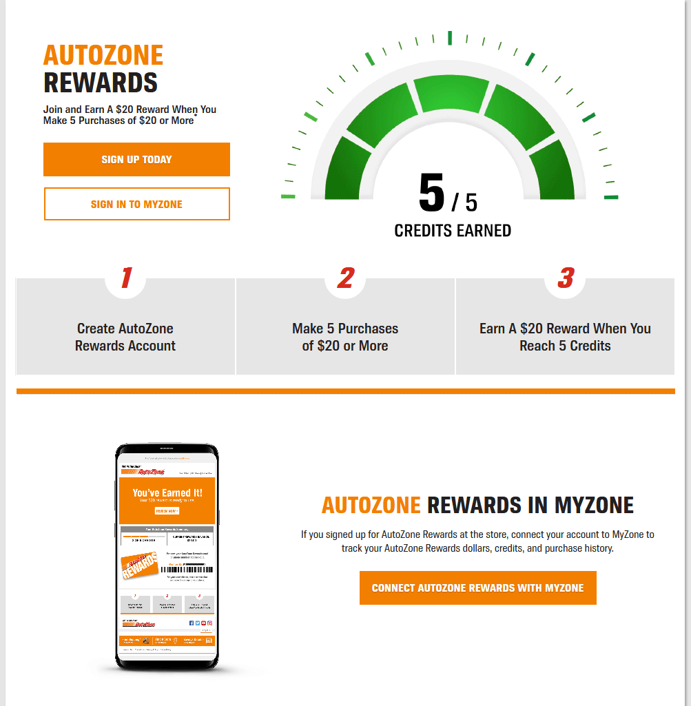 AutoZone Rewards