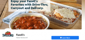 Fazoli's Guest Feedback Review