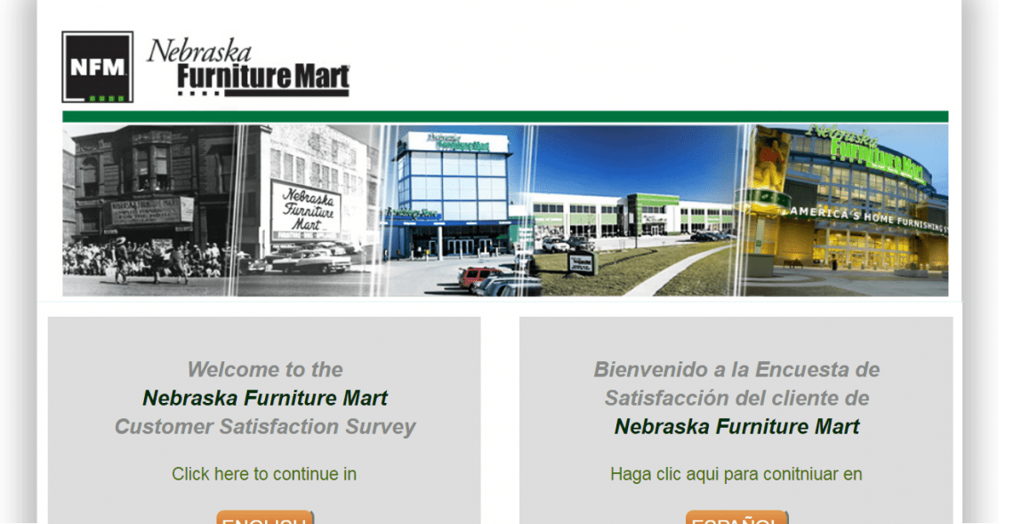 Nebraska Furniture Mart Survey Review